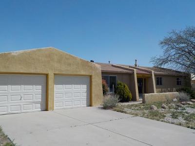 Rio Rancho Single Family Home For Sale: 3901 Juan Aldama Court SE