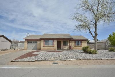 Rio Rancho Single Family Home For Sale: 98 Saffin Drive SE