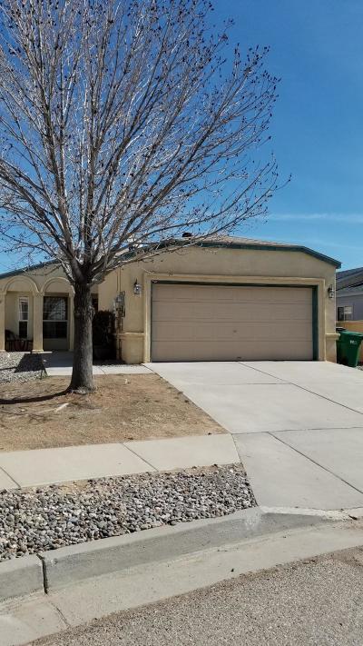 Rio Rancho Single Family Home For Sale: 1113 Sand Dune Road NE