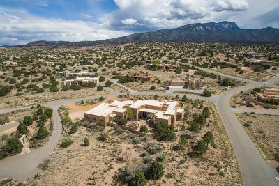 Placitas, Bernalillo Single Family Home For Sale: 2 Katherine Court