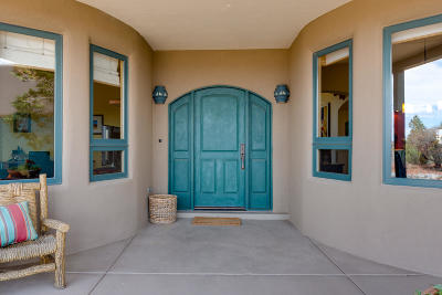 Placitas, Bernalillo Single Family Home For Sale: 15 Santa Ana Loop