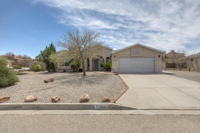 Rio Rancho Single Family Home For Sale: 2900 Pine Forest Drive