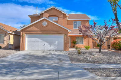 Albuquerque Single Family Home For Sale: 5819 Night Whisper Road NW