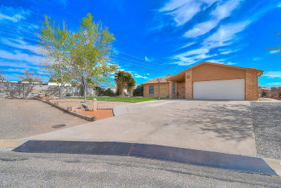 Rio Rancho Single Family Home For Sale: 2297 Wrangler Court SE