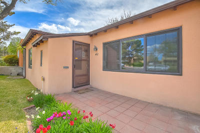 Albuquerque Single Family Home For Sale: 413 Wellesley Drive SE