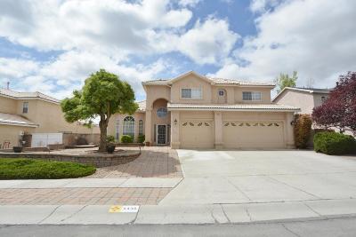 Albuquerque Single Family Home For Sale: 4436 Rancho Largo Road NW