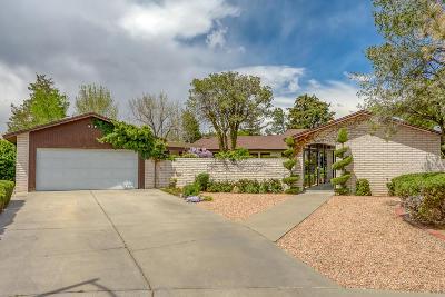 Single Family Home For Sale: 8817 Camino Osito NE