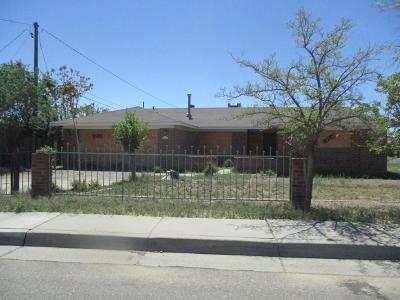 Albuquerque Single Family Home For Sale: 414 Bethel Drive SE