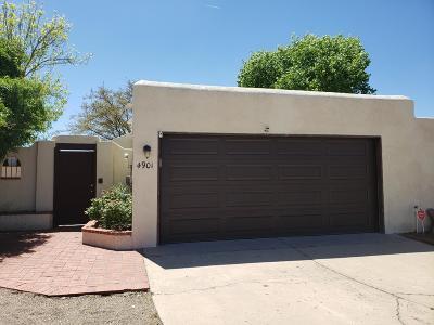 Albuquerque Single Family Home For Sale: 4901 Oso Grande Court NE