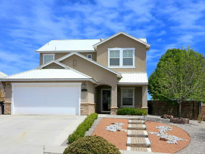 Albuquerque, Rio Rancho Single Family Home For Sale: 525 Minturn Court NE