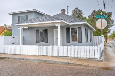 Albuquerque Single Family Home For Sale: 812 Slate Avenue NW