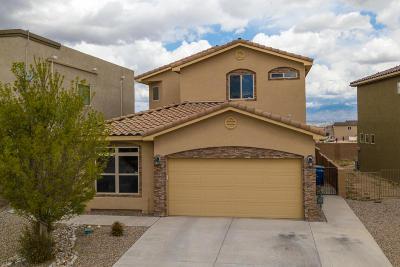 Albuquerque Single Family Home For Sale: 800 Serrano Pointe Street NW