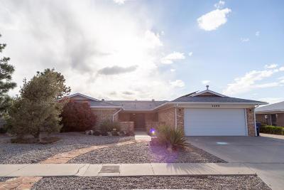 Albuquerque Single Family Home For Sale: 2009 White Cloud Street NE