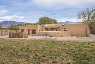 Albuquerque Single Family Home For Sale: 1936 Apple Lane NW
