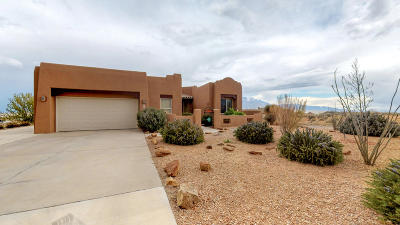 Albuquerque, Rio Rancho Single Family Home For Sale: 3102 Campeche Road NE