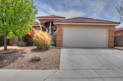 Albuquerque Single Family Home For Sale: 9308 Cumulus Place NW
