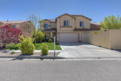 Albuquerque Single Family Home For Sale: 1316 Summer Breeze Drive NW