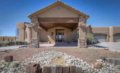 Albuquerque, Rio Rancho Single Family Home For Sale: 5950 Carson Road NE