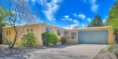 Albuquerque Single Family Home For Sale: 4012 Delamar Drive NE