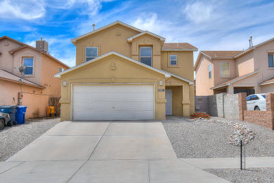 Albuquerque Single Family Home For Sale: 431 Desert Tree Drive SW