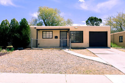 Albuquerque Single Family Home For Sale: 1026 Tomasita Street NE