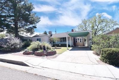 Albuquerque Single Family Home For Sale: 2916 Santa Clara Avenue SE