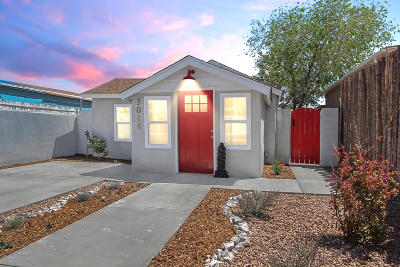 Albuquerque Single Family Home For Sale: 3018 3rd Street NW