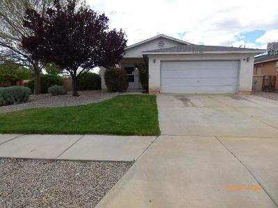 Rio Rancho Single Family Home For Sale: 3001 Mason Meadows Drive NE