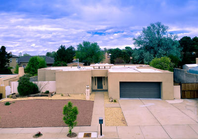 Albuquerque Single Family Home For Sale: 8805 Spain Road NE