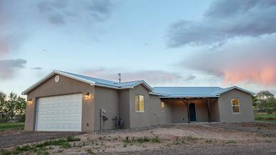 Valencia County Single Family Home For Sale: 3 Sky Blue Court