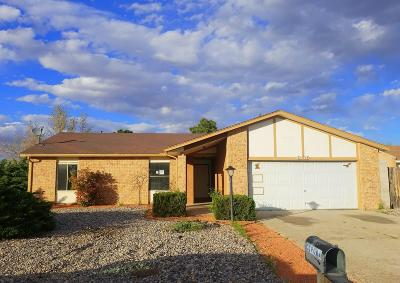 Rio Rancho Single Family Home For Sale: 400 Stagecoach Road SE
