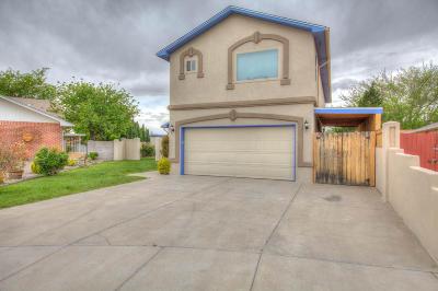 Albuquerque Single Family Home For Sale: 4932 Deborah Avenue NW