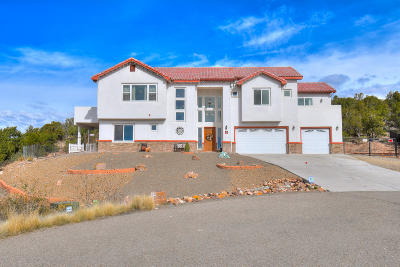 Tijeras, Cedar Crest, Sandia Park, Edgewood, Moriarty, Stanley Single Family Home For Sale: 9 Eli Court