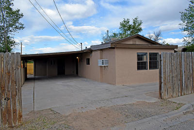 Belen Single Family Home For Sale: 312 12th Street
