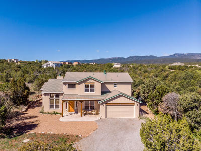 Tijeras, Cedar Crest, Sandia Park, Edgewood, Moriarty, Stanley Single Family Home For Sale: 59 Kiva Place