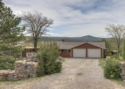 Tijeras, Cedar Crest, Sandia Park, Edgewood, Moriarty, Stanley Single Family Home For Sale: 126 Rincon Loop