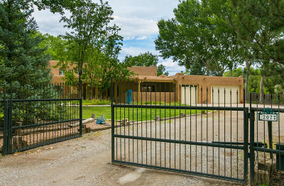 Corrales Single Family Home For Sale: 207 Sego Lane