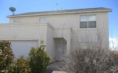 Rio Rancho Single Family Home For Sale: 7208 Pisa Hills Road NE