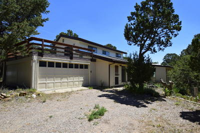 Cedar Crest Single Family Home For Sale: 145 Sangre De Cristo