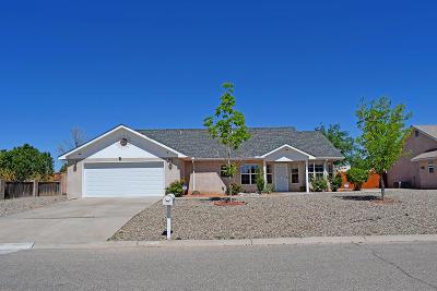 Valencia County Single Family Home For Sale: 1615 January Drive