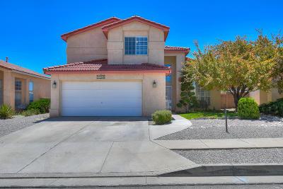Single Family Home For Sale: 8120 Corte Del Viento NW