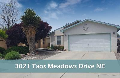 Rio Rancho Single Family Home For Sale: 3021 Taos Meadows Drive NE