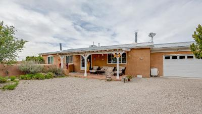 Placitas, Bernalillo Single Family Home For Sale: 7 Trigo Road
