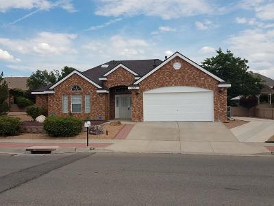 Valencia County Single Family Home For Sale: 1212 Montara Drive NW