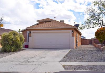 Rio Rancho Single Family Home For Sale: 6136 Vaughn Drive NE