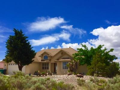 Rio Rancho Single Family Home For Sale: 6100 Rio Norte Road NE