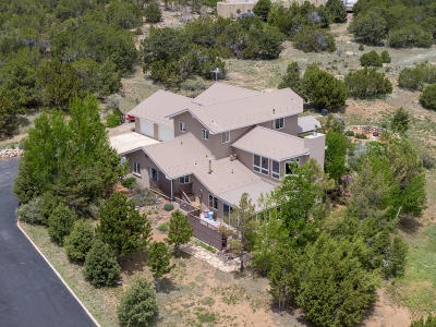 Tijeras Single Family Home For Sale: 31 Western Saddle Drive