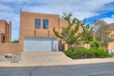 Single Family Home For Sale: 9115 Osuna Place NE