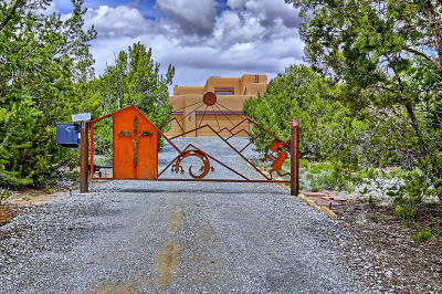 Sandia Park Single Family Home For Sale: 6 Chaco Loop