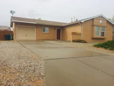 Rio Rancho Single Family Home For Sale: 7405 Aldan Drive NE